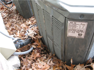 New NC Home Has Damaged AC Unit