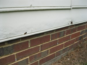 Raleigh Home Inspector Damaged Hardboard Siding